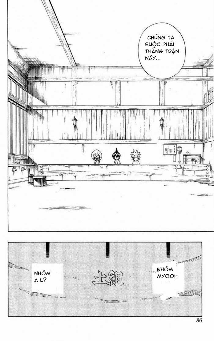 Shaman King [Vua pháp thuật] chap 220 trang 1