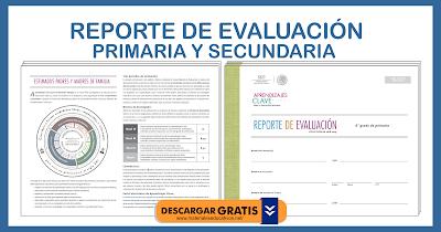 REPORTE DE EVALUACIÓN PRIMARIA Y SECUNDARIA