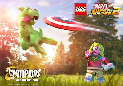 """בהשראת """"Champions"""", חבילת תוכן חדשה ל-""""Lego Marvel Super Heroes 2""""!"""