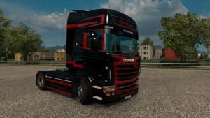 Scania RJL Black Diamond Skin