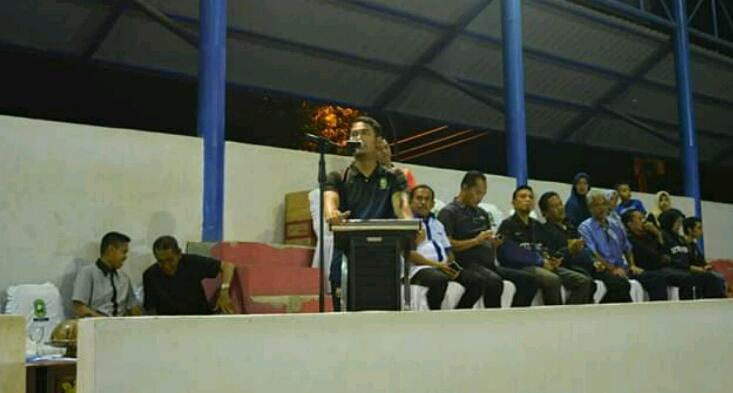 Bupati Buka Turnamen Futsal Antar Instansi