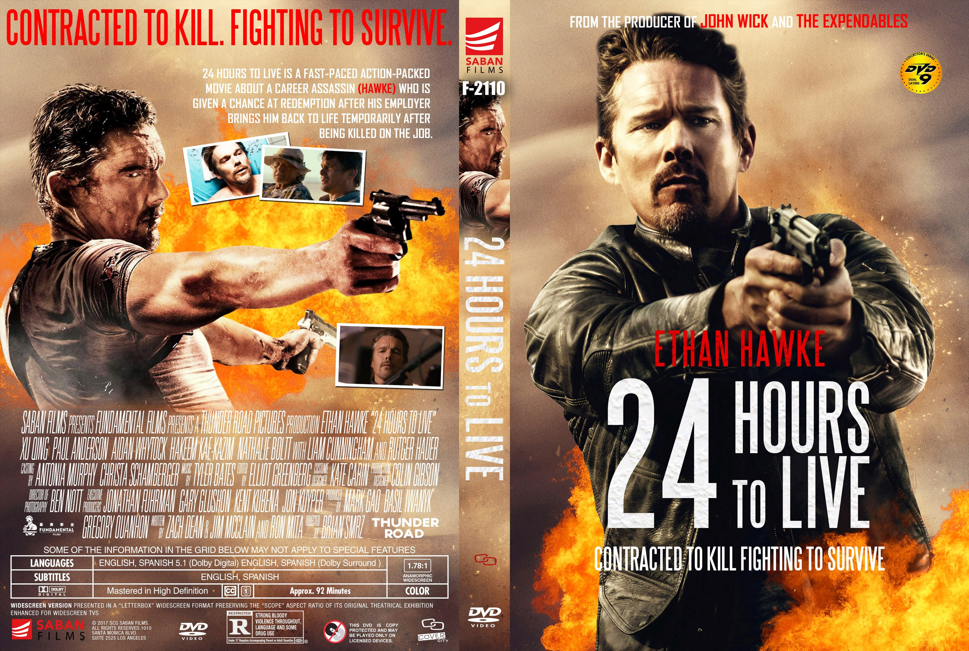 24 Hours To Live DVD Cover ...