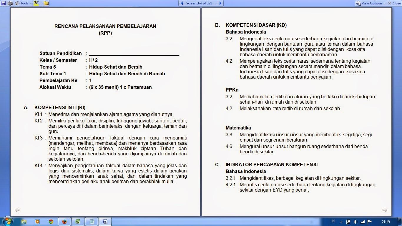 Aplikasi Raport Sd Kurikulum 2013 Plus Deskripsi Dapodik Id