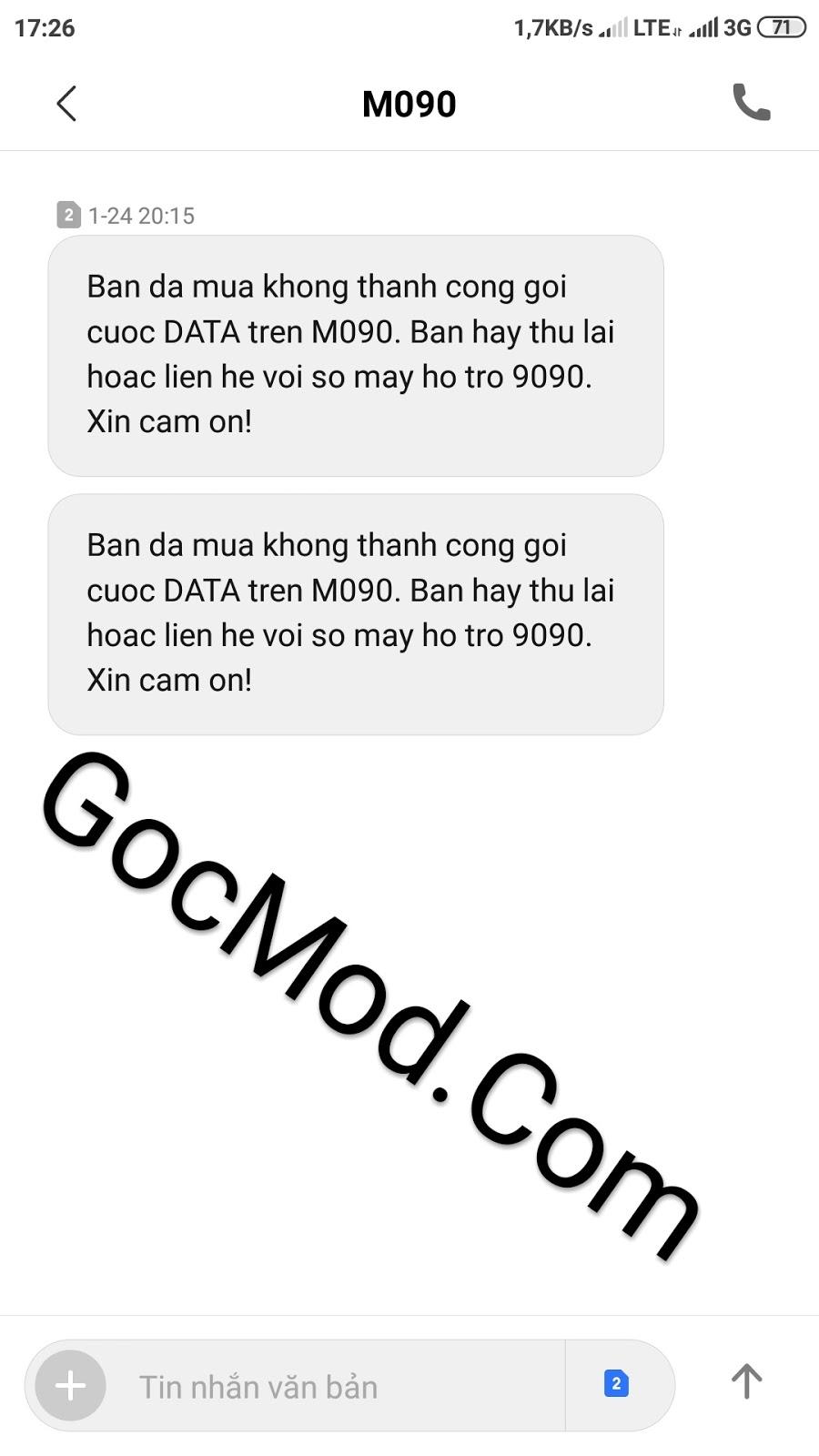 Hướng dẫn đăng ký gói 5000d max dung lượng Mobi