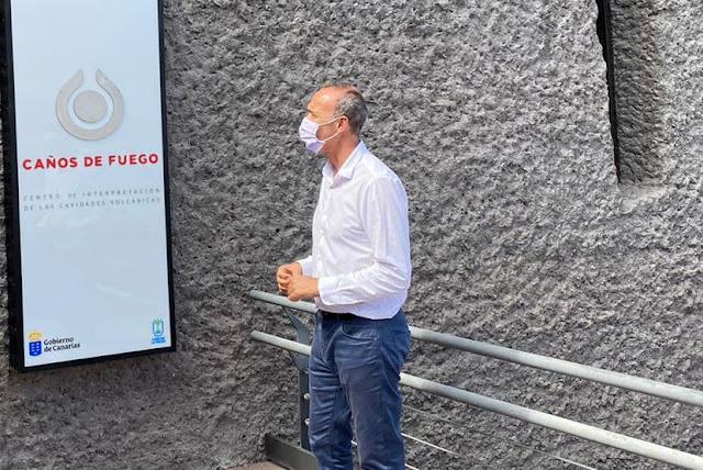 El Cabildo reabre los Centros de Interés Turístico 'Caños de Fuego' y 'El Tendal' con acceso gratuito para residentes en La Palma