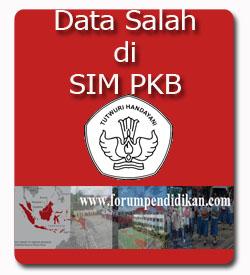 Data Sekolah di SIM PKB salah, ini yang harus anda lakukan