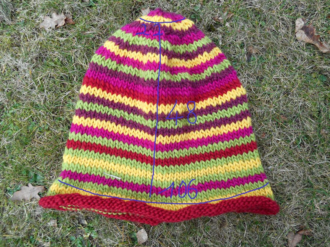 Cappello di lana prima dell'infeltrimento