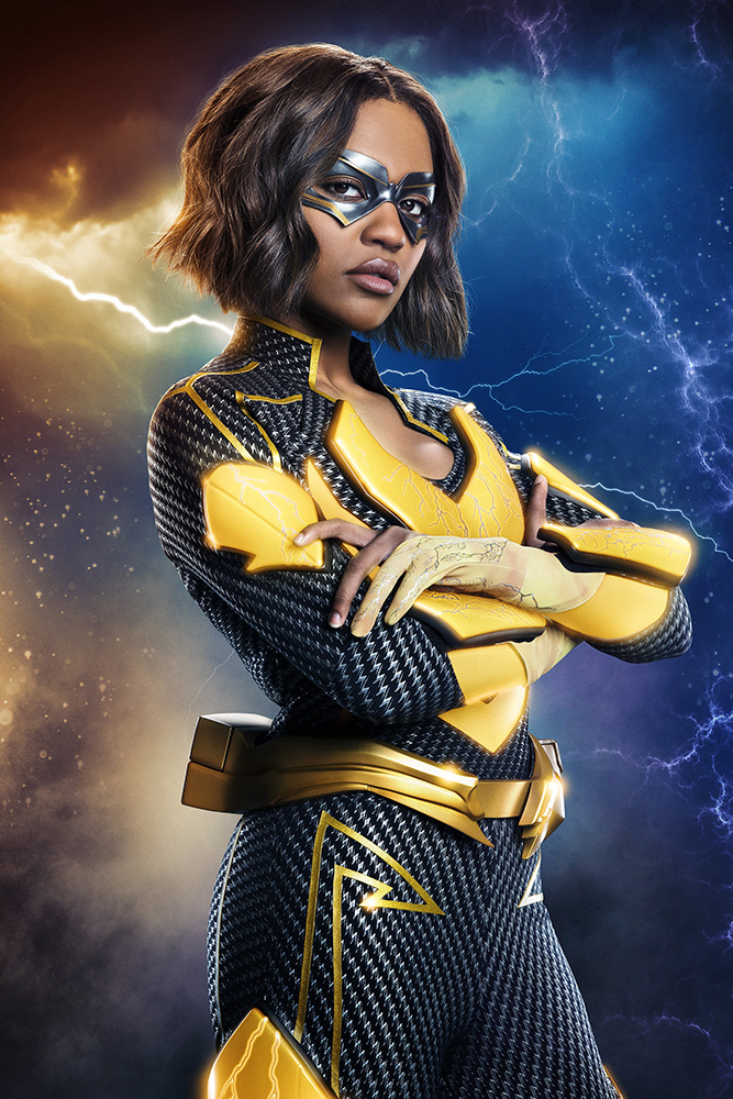 CW Jennifer Pierce Lightning costume reveal