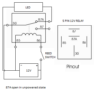Reverse Push Button Schematic