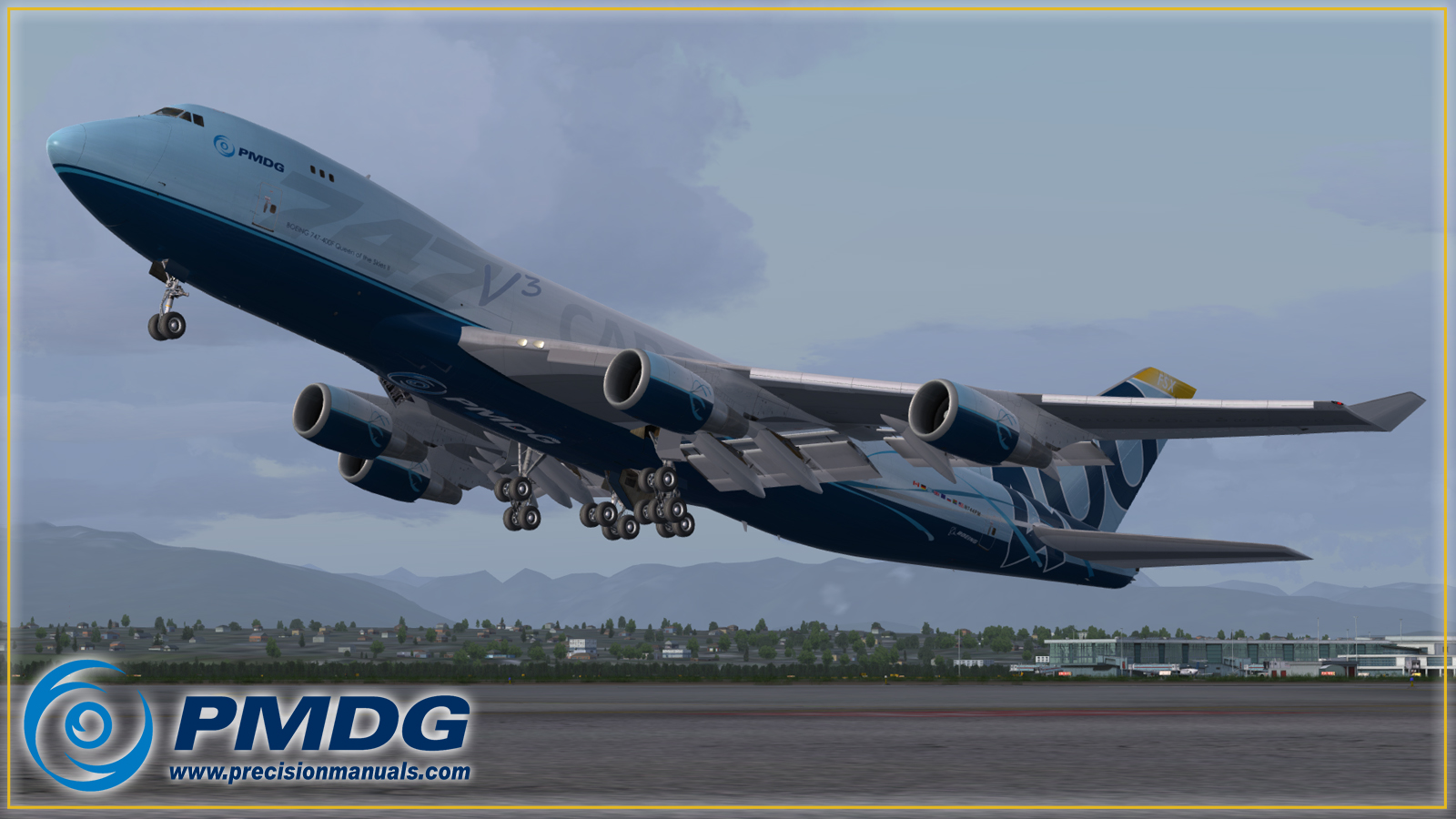 For Love Of Sim: PMDG 747 V3 for Prepar3D V4