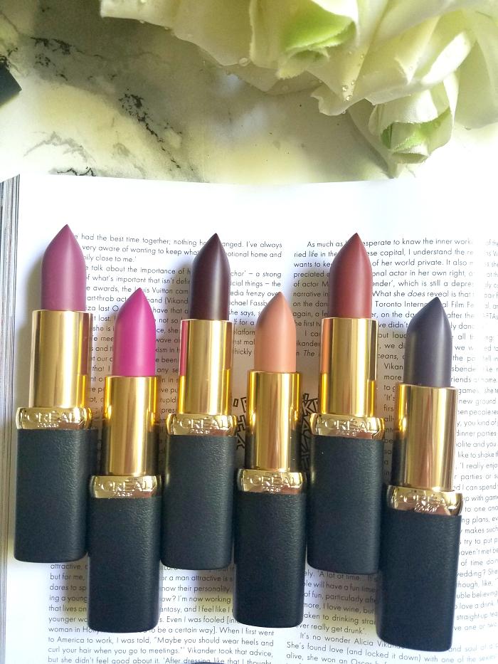L´Oréal Paris - Color Riche Matte Magnetic Stones Collection Review & Swatches 2 - Madame Keke Beauty Blog