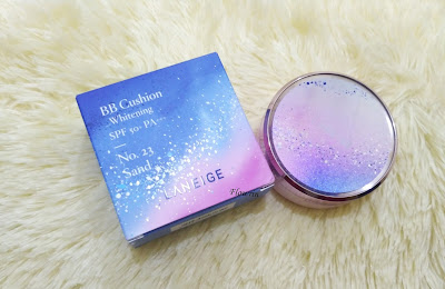 (Review) Laneige Whitening BB Cushion Milky Way Fantasy Edition