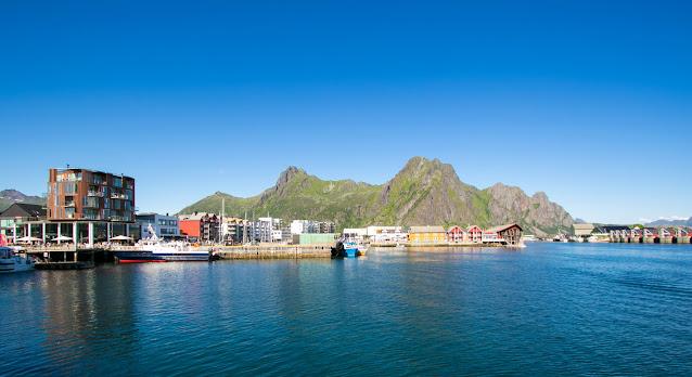 Porto di Svolvaer-Isole Lofoten