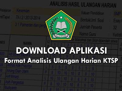 Aplikasi Format Analisis Ulangan Harian KTSP  Geveducation:  Download Format Analisis Ulangan Harian KTSP Terbaru