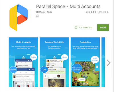 Parallel Space Android App
