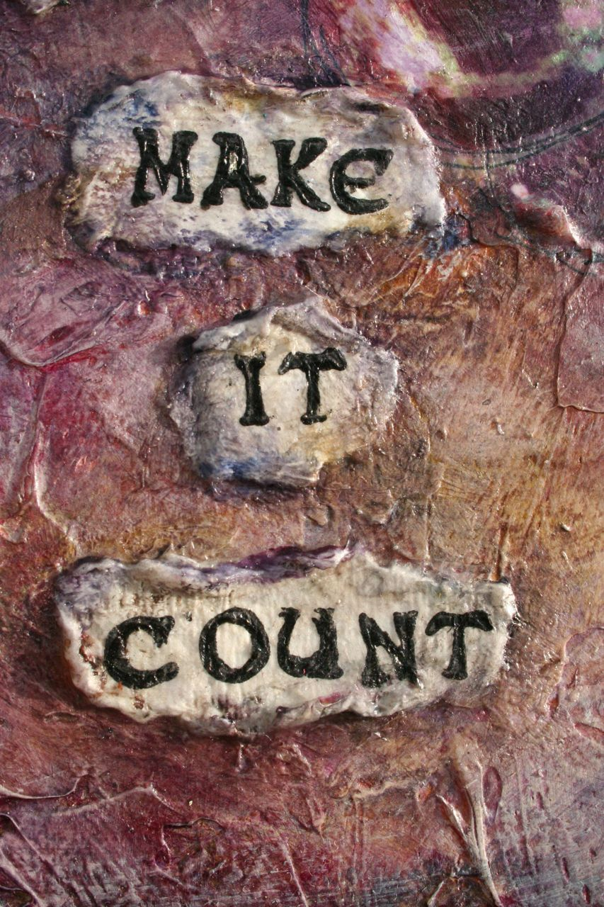 E Makes Art: New Year, New Art: Make It Count