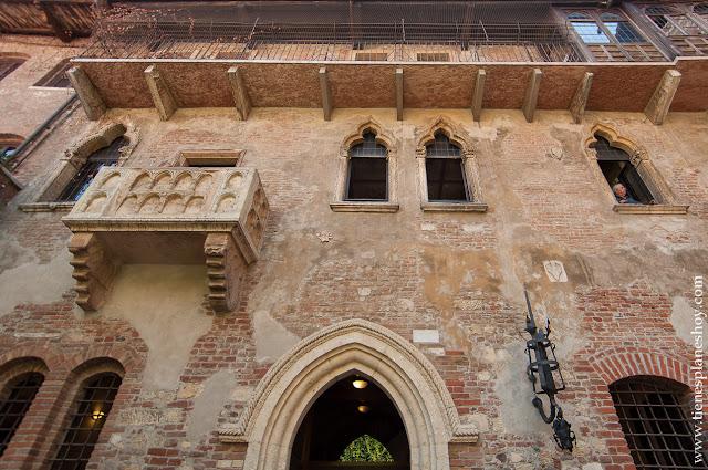 Casa de Julieta Verona viaje a Italia