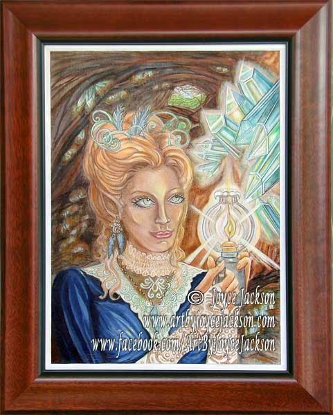 Hidden Treasure by Enchanted Visions Artist, Joyce Jackson