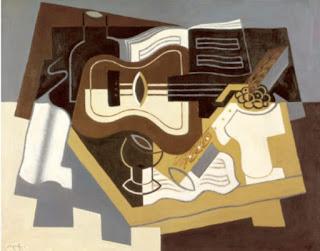 Guitare et Klarinette - Juan Gris