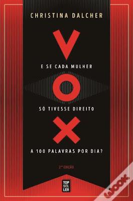 Livros para ler no Dia da Mulher (e não só) - Vox, de Christina Dalcher