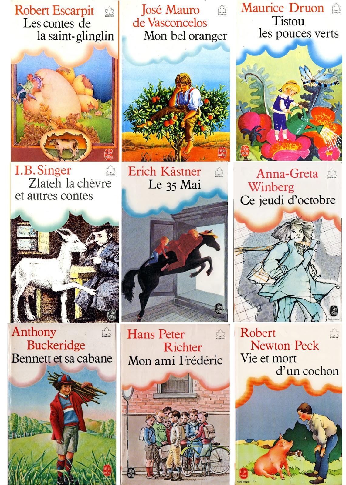 Eclectisme Le Livre De Poche Jeunesse A Ses Debuts 1979