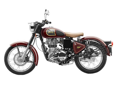 Royal Enfield Classic 500 Desert Storm Red wallpapers HD