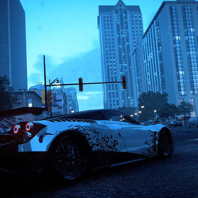 Pagani Huayra Wallpaper Engine