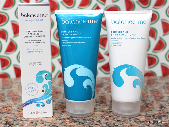 One Little Vice Beauty Blog: Balance Me Collagen Boost and Protect and Shine Releases