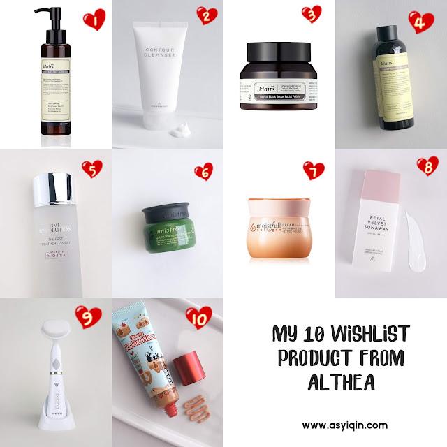 10 Produk Best dari Althea Korea ❤