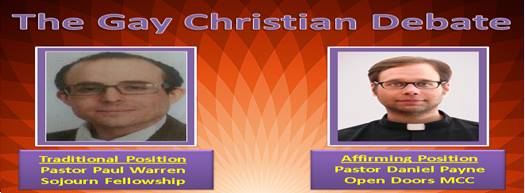 Biblical debate on homosexuality and christianity