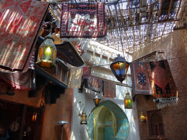 Restaurante Agrabah Café en Disneyland Paris