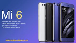Spesifikasi Smartphone Xiaomi Mi6 2017