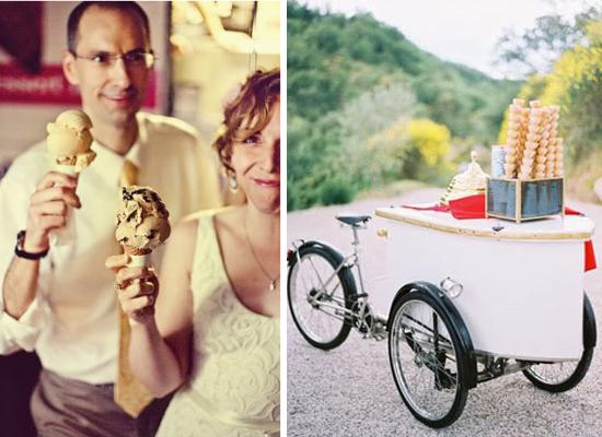 Wedding cake alternative ideas, wedding dessert, wedding ice-cream