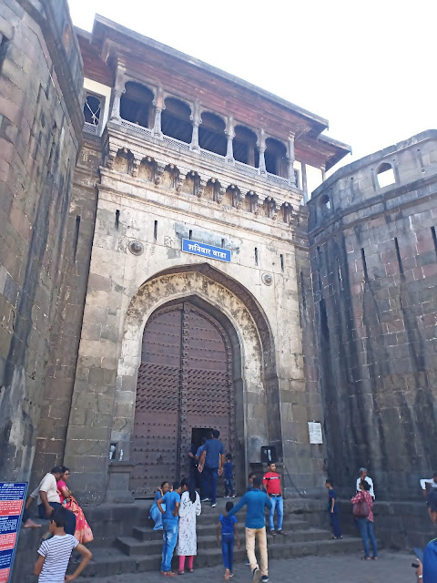 Front gates to Shaniwar Wada fortification