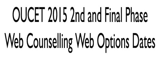 OUCET 2016 1st 2nd Final Phase Web Counselling Web Options Dates