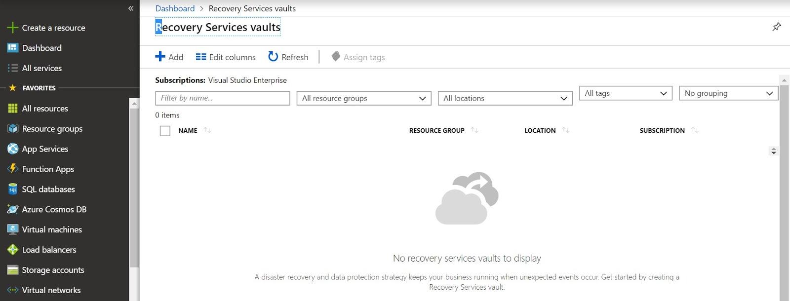 Solution Mandi - Cloud & Big Data !: Back up On-premises