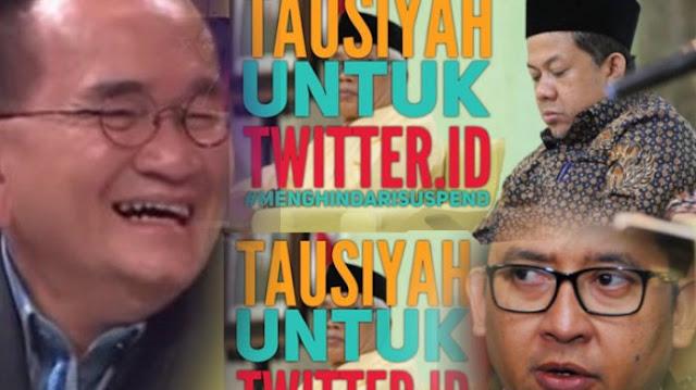 Ruhut Kegirangan saat Twitter Mendadak Suspend Akun Penyebar Postingan Provokasi, Ini Kata Duo F