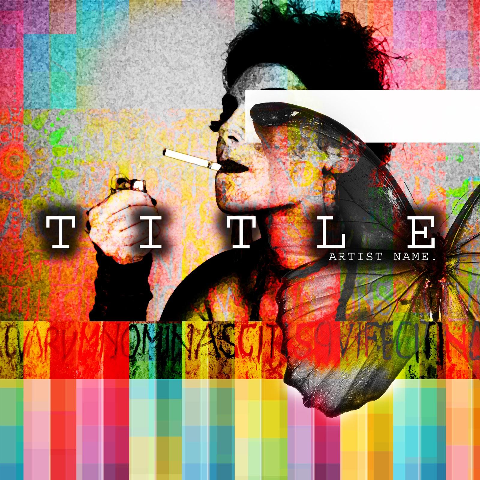 Music Single Album Mixtape Cd Cover Artwork Graphic Design Templates,Custom Pools By Design