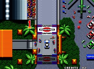 Thrash Rally+arcade+portable+game+retro+download free