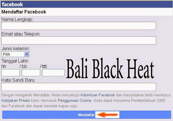 daftar facebook di hp