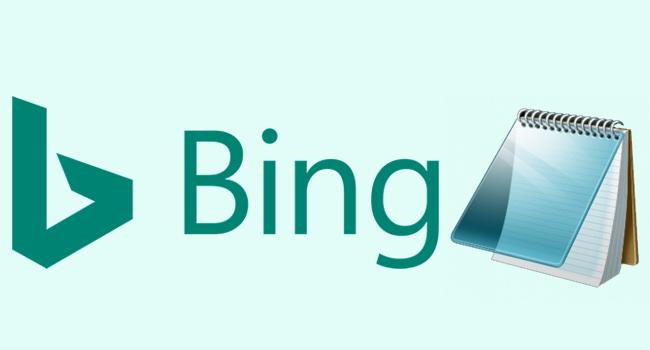 Microsoft'un Not Defterindeki Kelimeyi Bing'de Ara