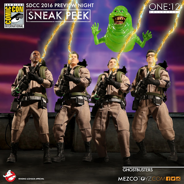 Mezco One:12 Collective Ghostbusters Figures