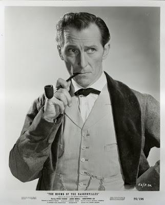 Sherlock Holmes, Peter Cushing, drogas