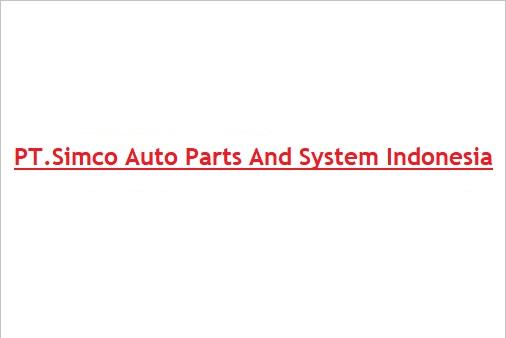 Lowongan Kerja Kawasan GIIC Cikarang | PT.Simco Auto Parts And System Indonesia