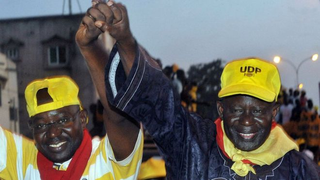 Gambia opposition leader Ousainou Darboe freed on bail