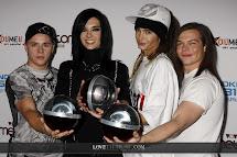 Super Hq Pics Tokio Hotel Comet 2008 Oberhausen