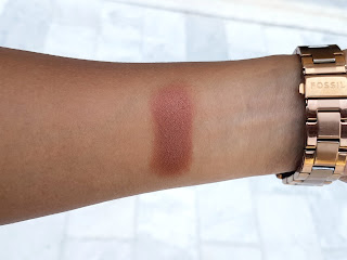 MAC Antiqued Eye Shadow Swatch - Shade