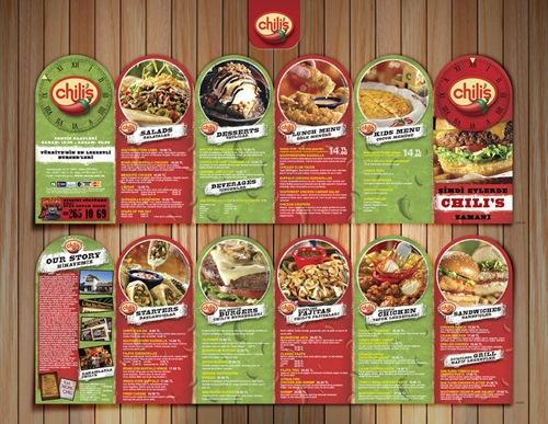 10 Food Brochure Design Samples for Inspiration - Jayce-o-Yesta - food brochure