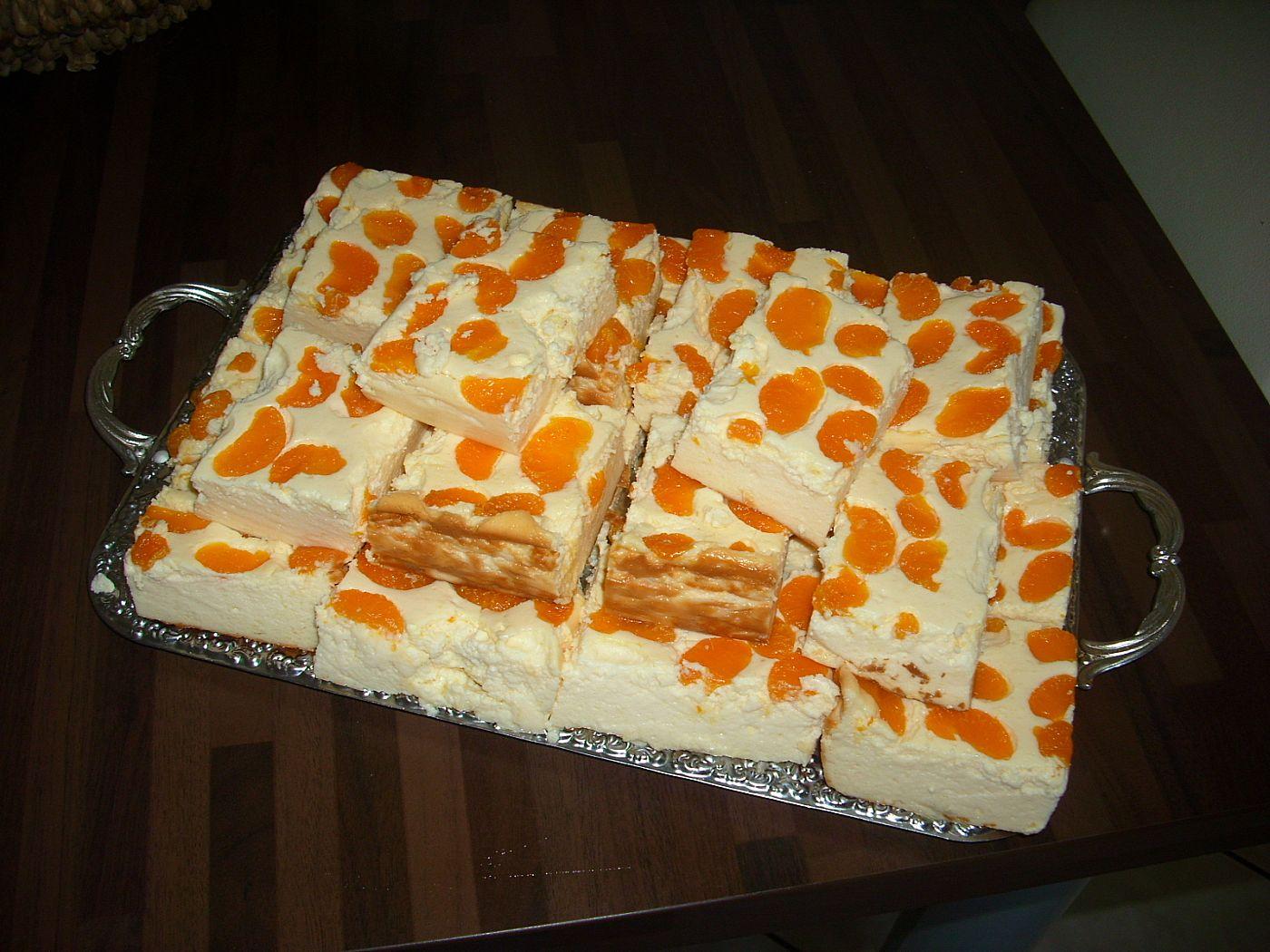 Timmys Basteleien Quarkkuchen Mit Mandarinen Vom Blech