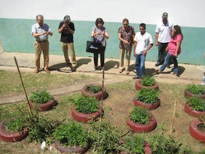 Visita de especialistas em Educação Ambiental de Shimane à Registro-SP